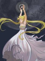 Princess Serenity by dianequach