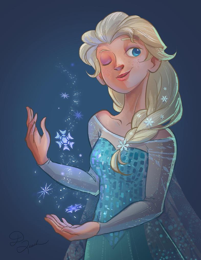 Elsa by dianequach