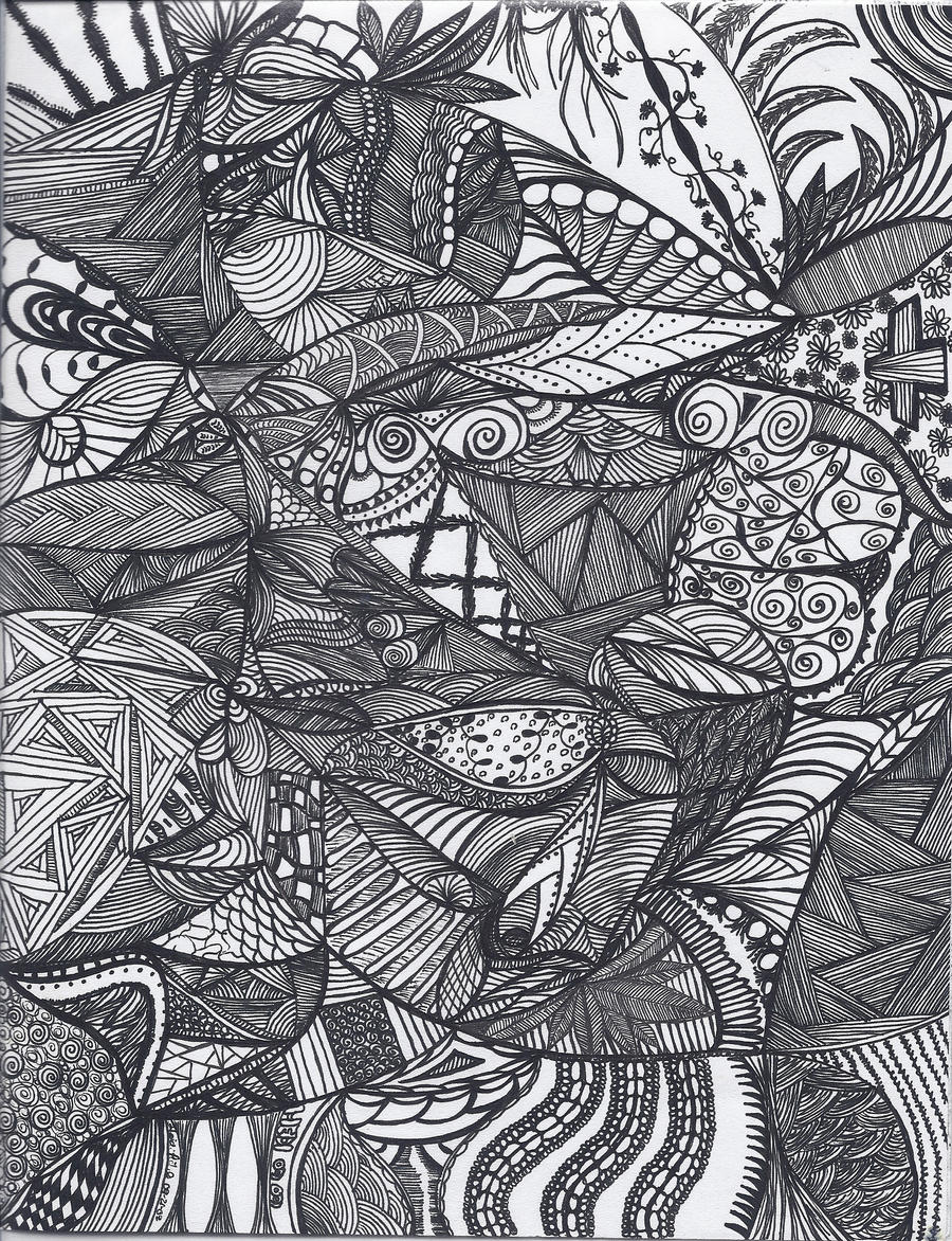 full page doodle 10 by heidipickels on deviantart
