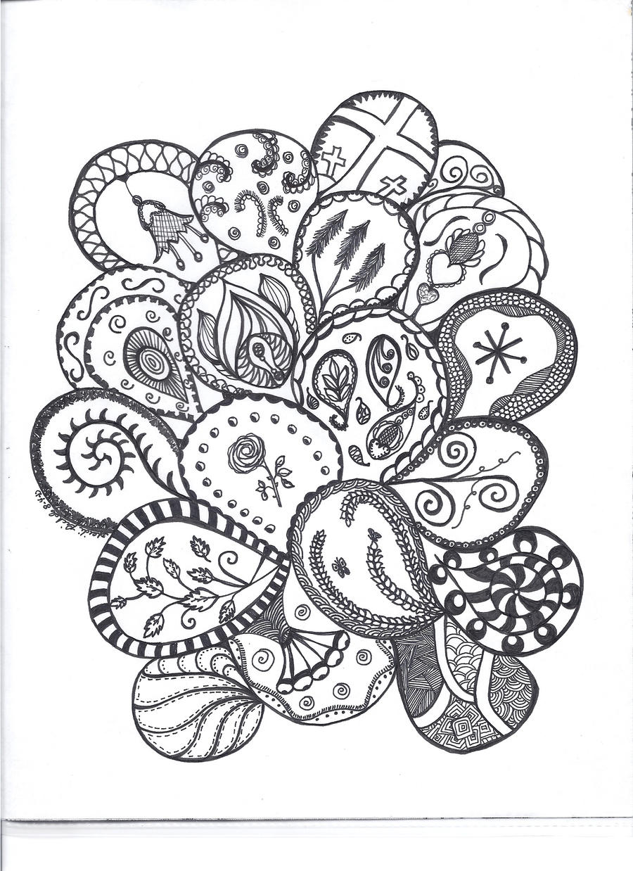 Paisley patterns by heidipickels on deviantart for Paisley designs coloring pages