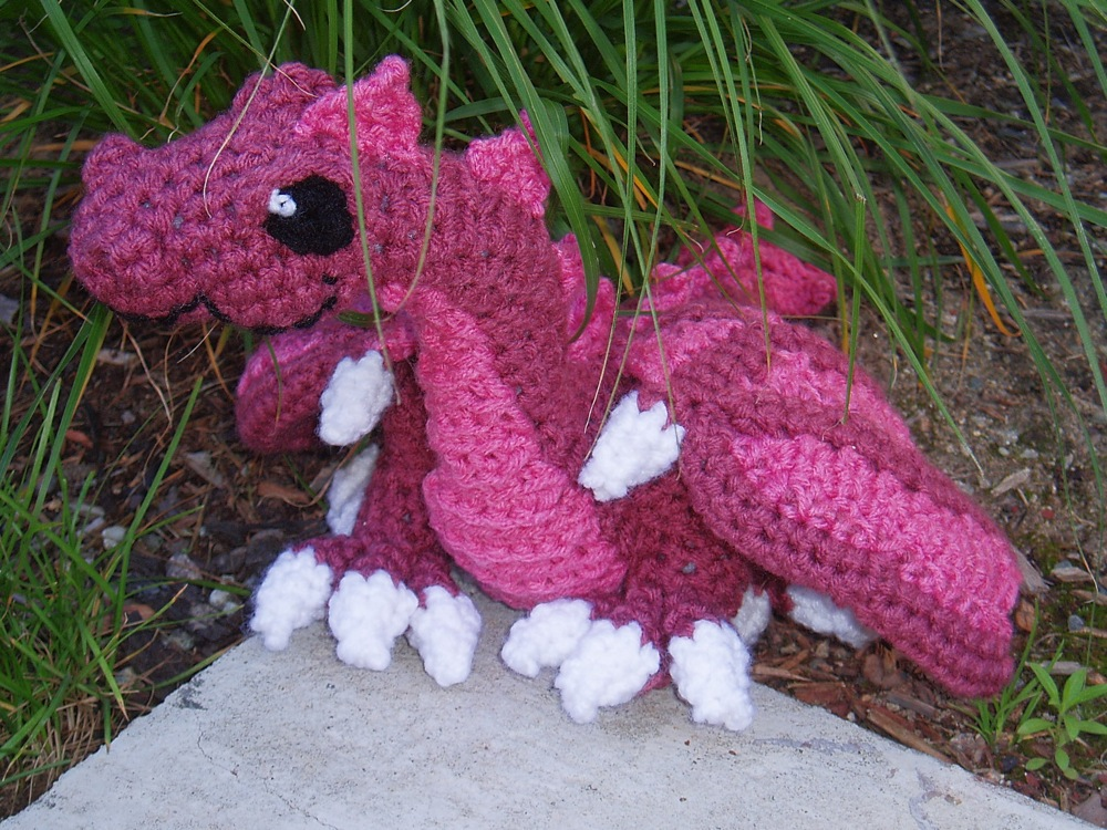 Rosa the Stuffed Dragon by Ayakitsune