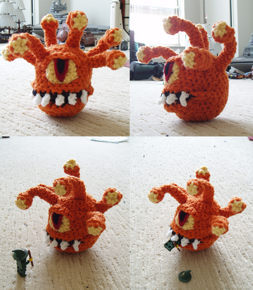 Reggie the Beholder by Ayakitsune
