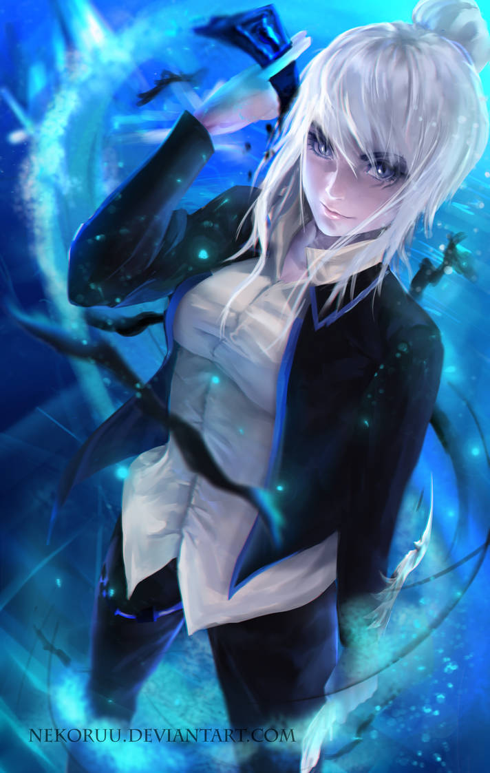 Blade and Soul - Request - Warlock by NeKoruu