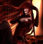 Elsword - Elesis Bloody Queen fanart by NeKoruu