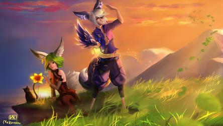 [COMM] Blade and Soul - Aurium by NeKoruu