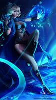 [COMM] Blade and Soul - Lucia by NeKoruu