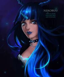 [COMM] LacrimeObscura - Original Character by NeKoruu