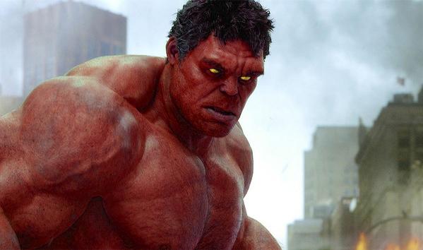 Red Hulk Live Action by zoroav88 on DeviantArt