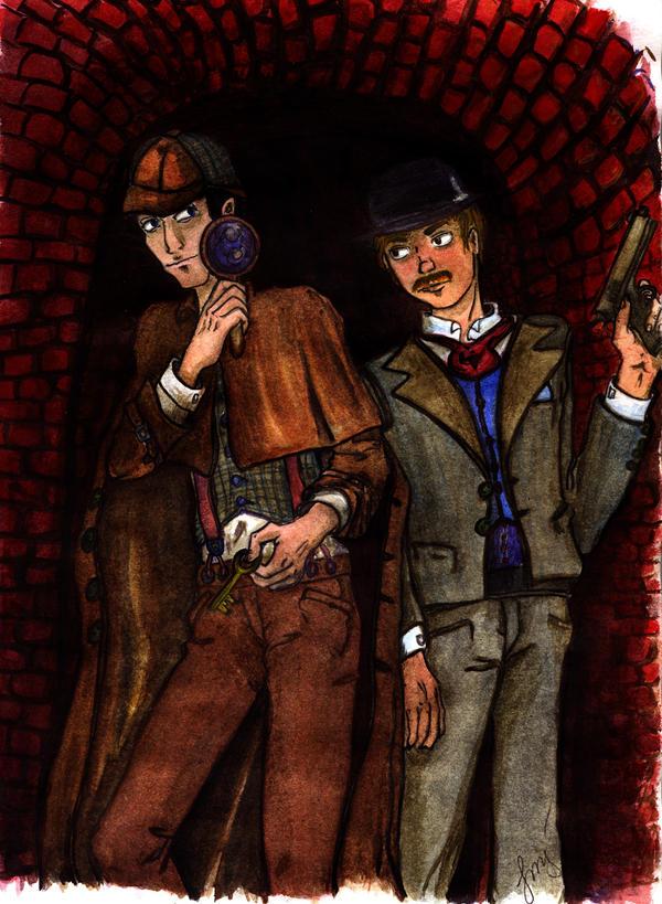 Sherlock and Watson by MurLik