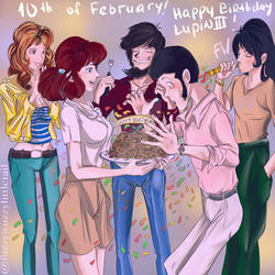 birthday Lupin