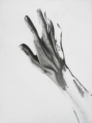 Hand and pain by liza23q