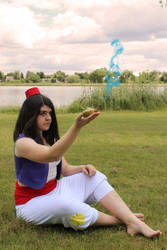 Aladdin woman version cosplay