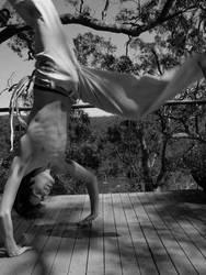 Capoeira trick by MormonOfDeath