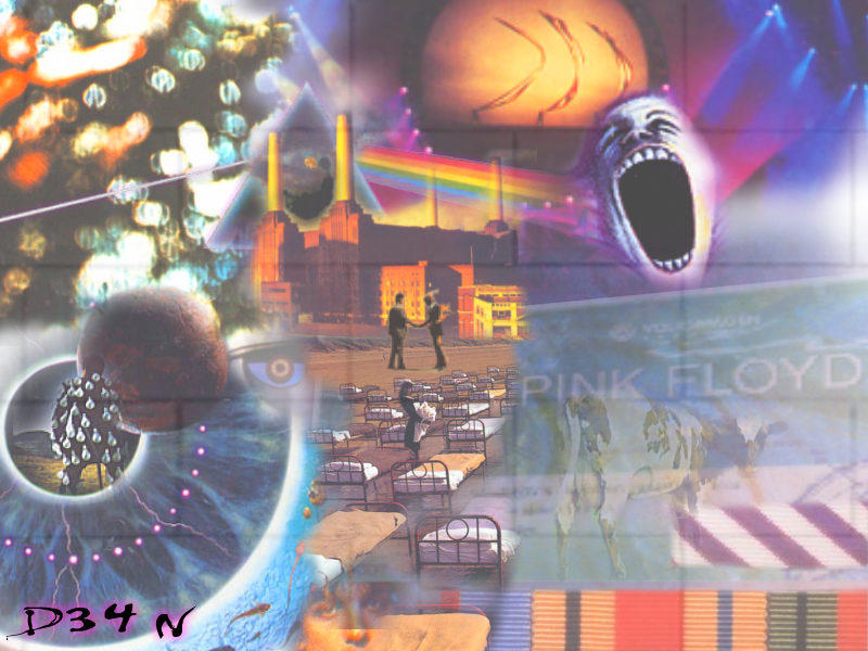 Floyd Collage by D34N