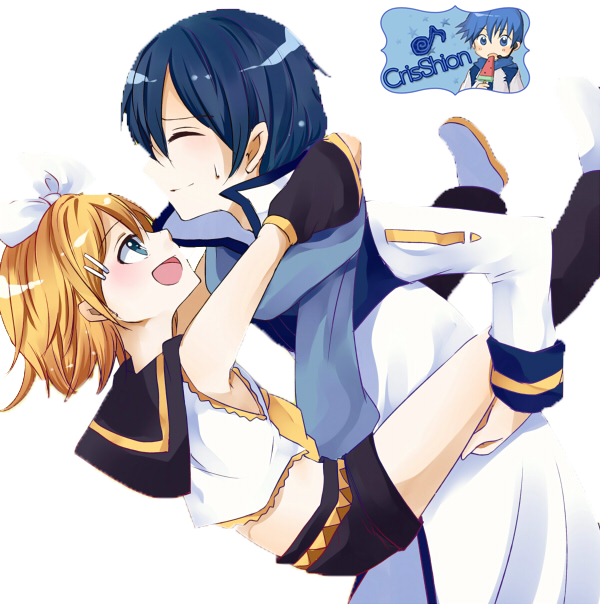 Vocaloid Kaito And Rin...