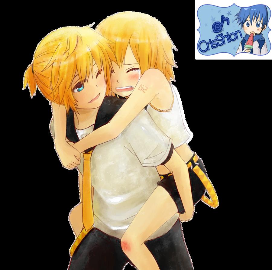 Kagamine Rin and Len by Crystal899 on DeviantArt