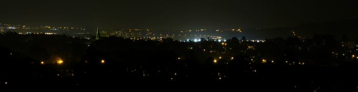 West Cardiff by night