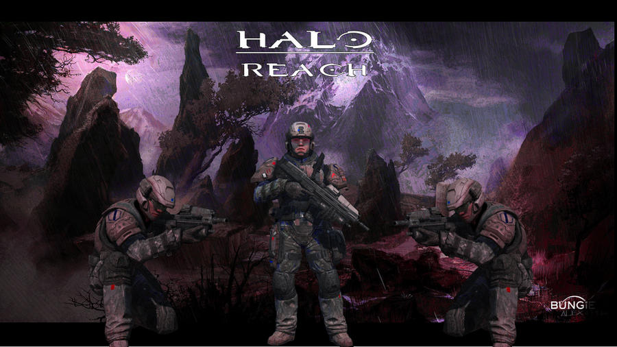 halo reach wallpaper. Halo Reach Marines Wallpaper
