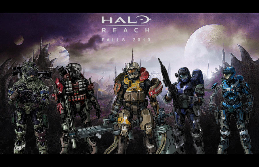 Halo Reach Concept Wallpaper 2 By Davidhiggins360 On Deviantart