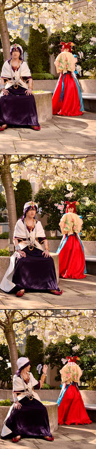 sinbad and ren kougyoku - magi