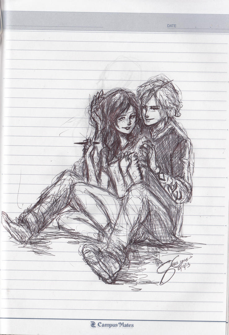 Request: Clary and Jace by Nippaaah on DeviantArt  |Jace And Clary Fan Art Tumblr