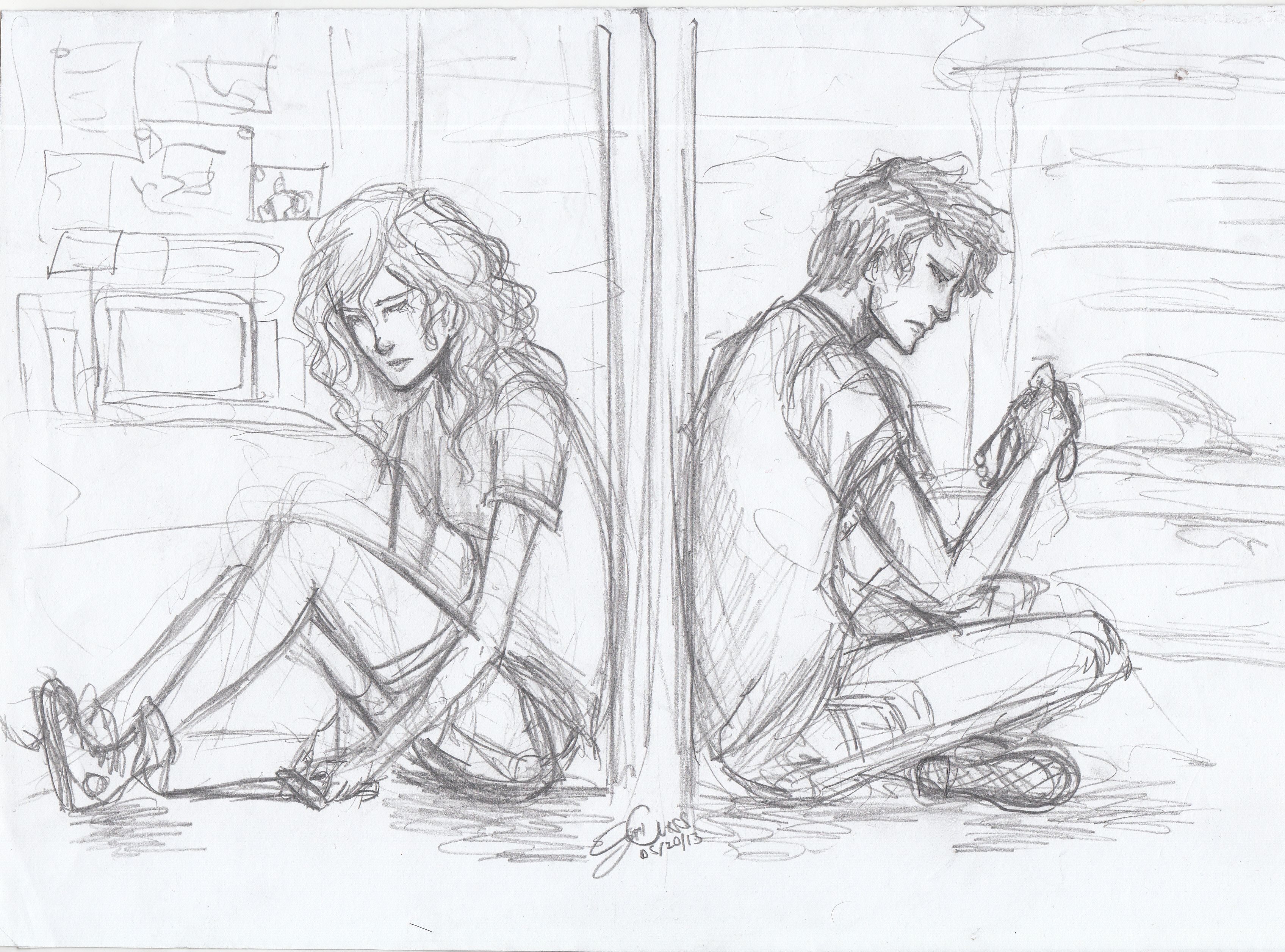 Love couple Wallpaper Sketch : Love Lost by seththelordofstorms on DeviantArt