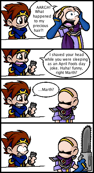 april fool joke