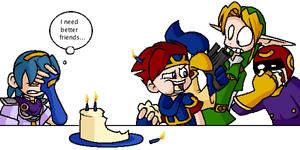 Happy Birthday Marth by Hail-NekoYasha