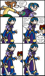Fun with Land Mines and Marth