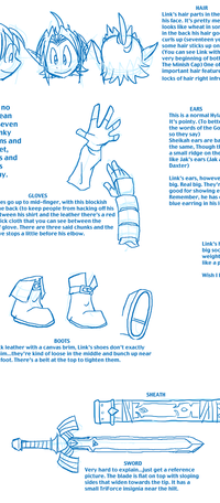 Link Character Sheet by Hail-NekoYasha