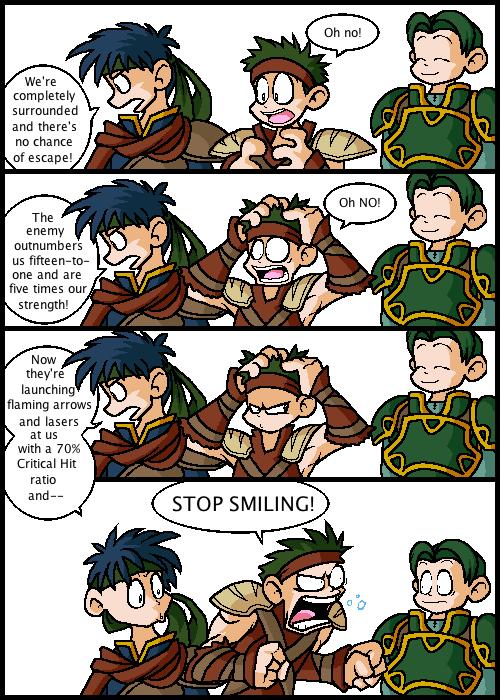 Oscar is a Smilin' Fool
