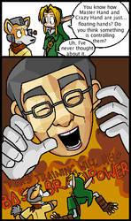 Professor Hand-Face by Hail-NekoYasha