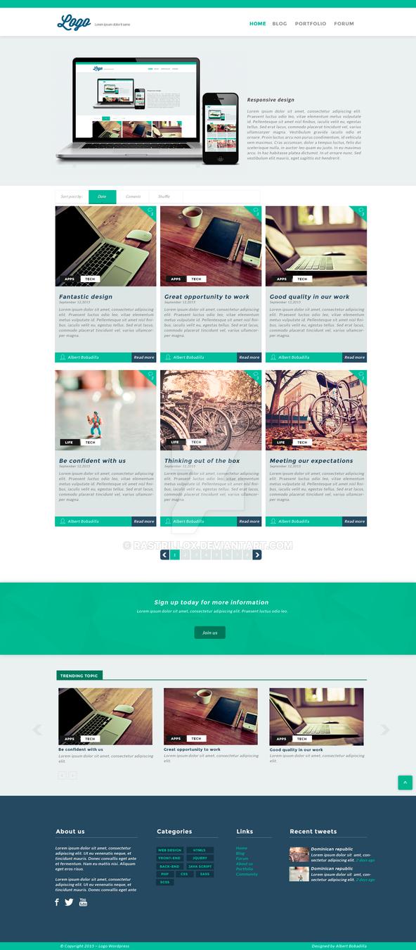D Responsive Web Design