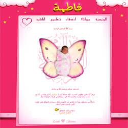 Fatima's Website by mekaeel