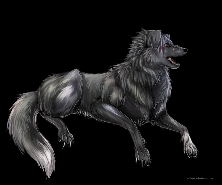 {Gift} - Silce wolf by LeoKatana