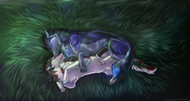 Cuddle by LeoKatana