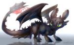 =HTTYD= Night Fury Toothless