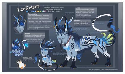 LeoKatana reference sheet