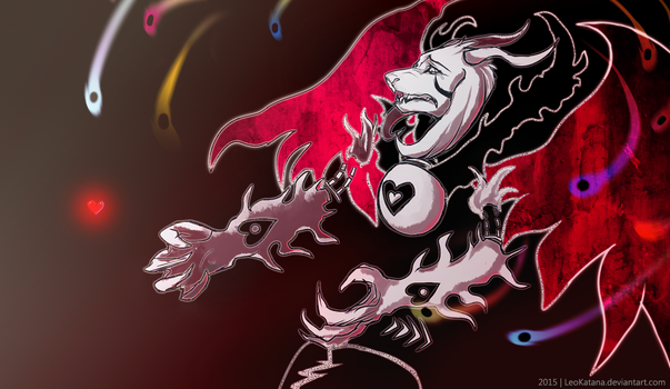=Undertale= Asriel Dreemurr (Demon mode)