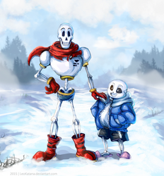 =Undertale= Papyrus and Sans