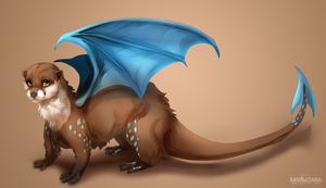 {Commission} - Dragon Otter