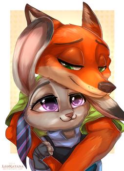 =Zootopia= Nick x Judy