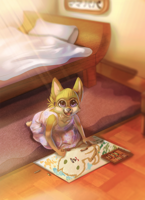 {Commission} - Look at what I drew!
