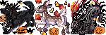 {Commission} - Illyarien Bonelark Pixel Icons by LeoKatana
