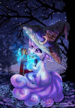 {Commission} - Magical Vulpix