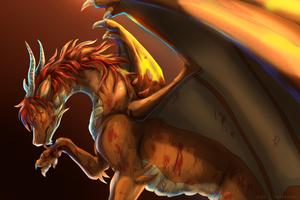 {Commission} - Battle Damage by LeoKatana