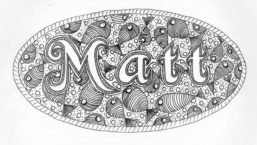 Matt's Placemat by Astarsia