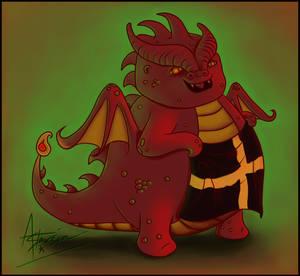 FireBreathing Contest - Fatty Dragon