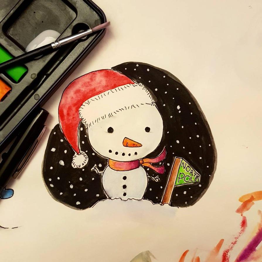 Cute Christmas Friend by Astarsia