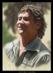 Steve Irwin by Astarsia